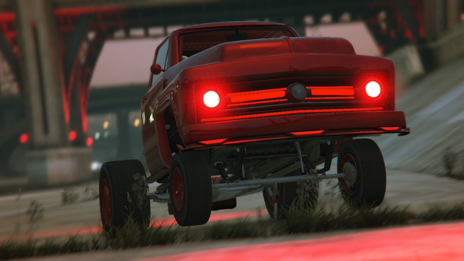 Drag Kings And Wheelie Masters Of The Muscle Car Meet